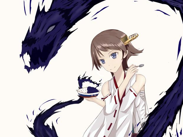 黒龍波は単なる飛び道具じゃない 術師の妖力を爆発的に高める栄養剤(エサ)なのよ