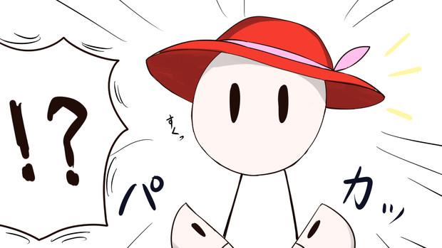 【1-3コマ】いいえ、山歩きです【第9回東方ニコ童祭Exリレー漫画】