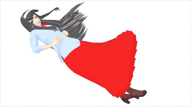 【MMD月姫】遠野秋葉【モデル配布】