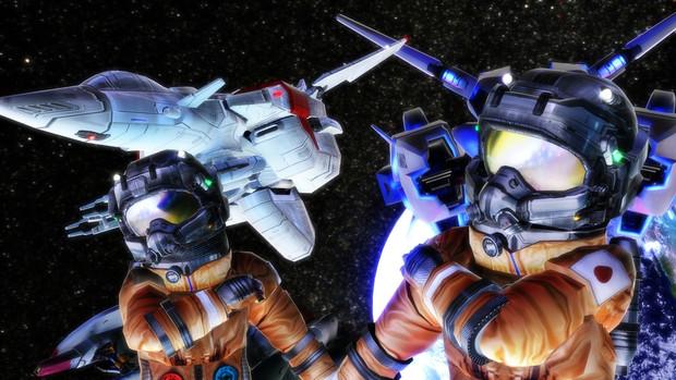 スターラスターガール 一般パイロット宇宙服モデル