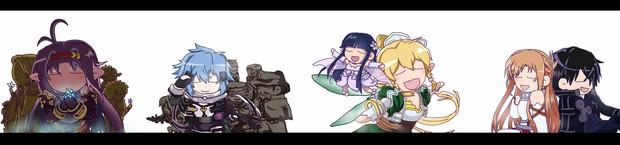 でふぉ&修正版☆ SAO ミュージックこれくしょん!れんしゅう~☆ ※メディバンペイント Pro