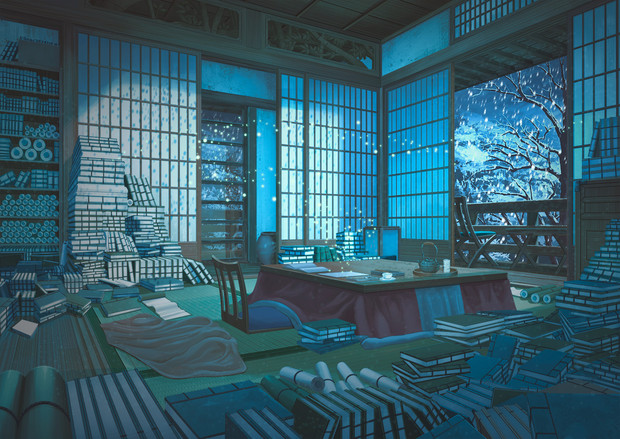 月雪の書斎