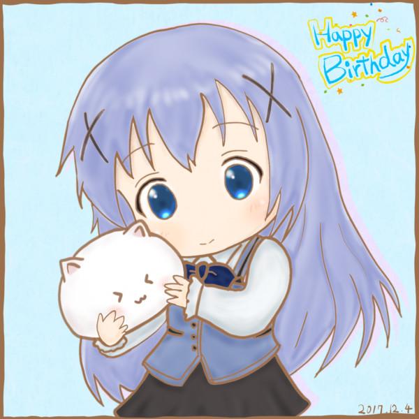 チノちゃんお誕生日!