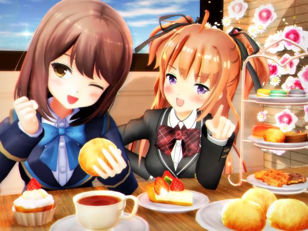 おいしく! いっぱい食べよう~♡