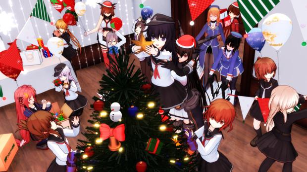 クリスマス準備中なのです