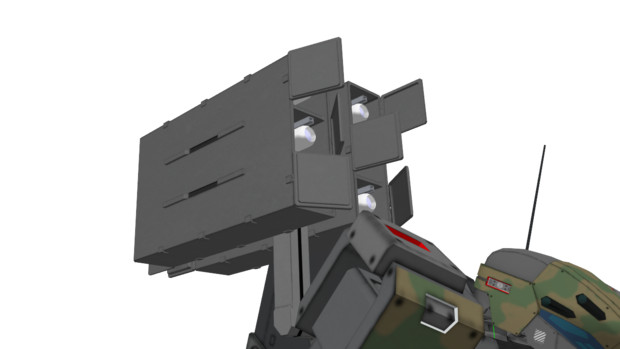 シャム用背部装備:41式中距離多目的誘導弾発射機