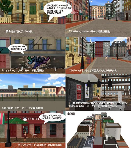 ブロンズストリートーステージ拡張版:更新配布