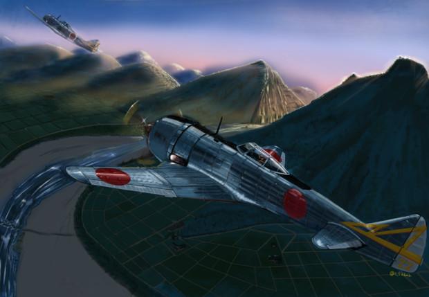 陸軍 中島 二式単座戦闘機 鍾馗