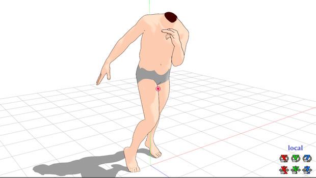 モブ男素体