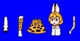 千賀さん風サーバルちゃんBB改良版