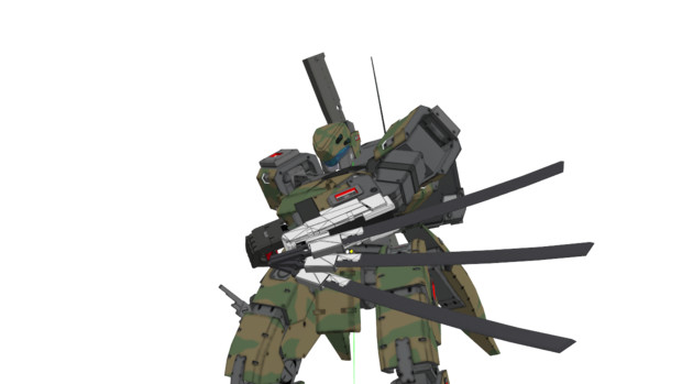 44式対装甲ブレード用予備刀身ラック