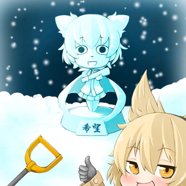 神霊廟雪まつり