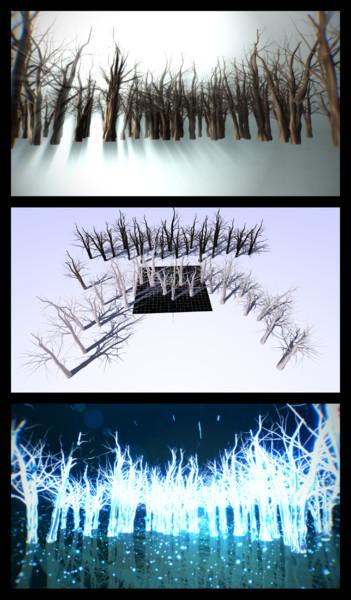 冬の木立【ステージ、アクセサリ配布】