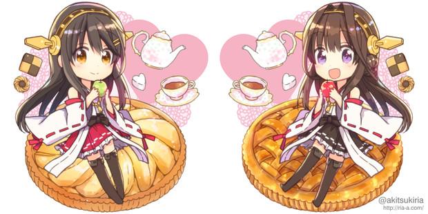 金剛&榛名のお茶会