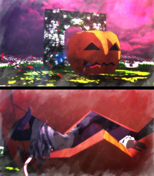 【第二回MMDオリキャラ祭り】褐色エイゼル「おなかいっぱい……おやすみなさい……zzZ……」