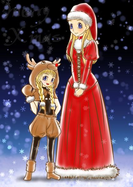 【版権】クリスマス姉妹【DQ11】