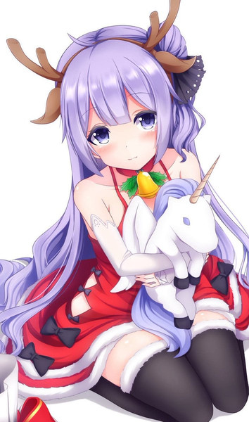 サンタユニコーンちゃん