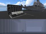【モデル配布】19,500t型護衛艦用組み込み式弾薬リフトセット