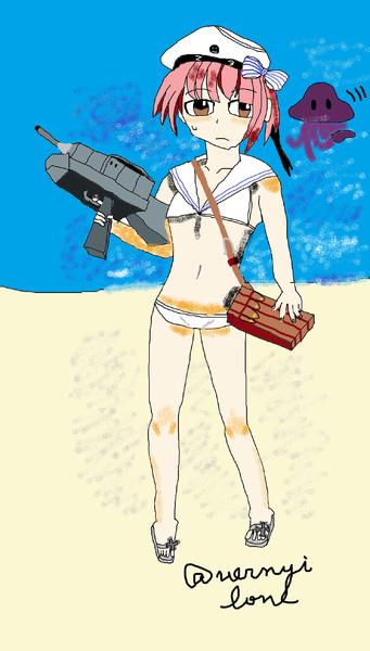 美術2が描く艦娘 ある枠のお題用