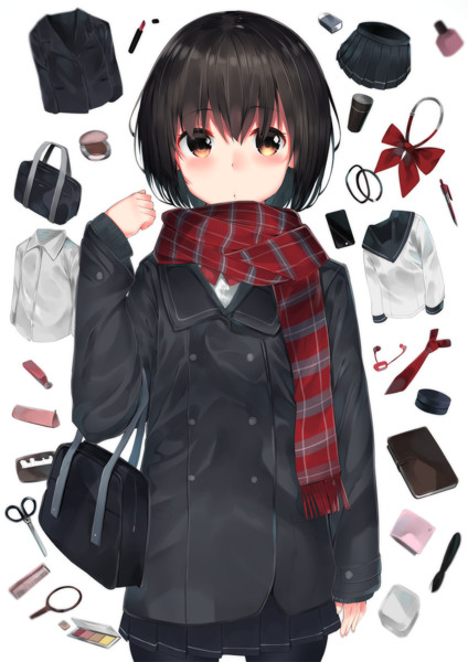 女子高生の持ち物 ねく さんのイラスト ニコニコ静画 イラスト