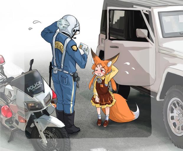 ロリババア狐さん♪