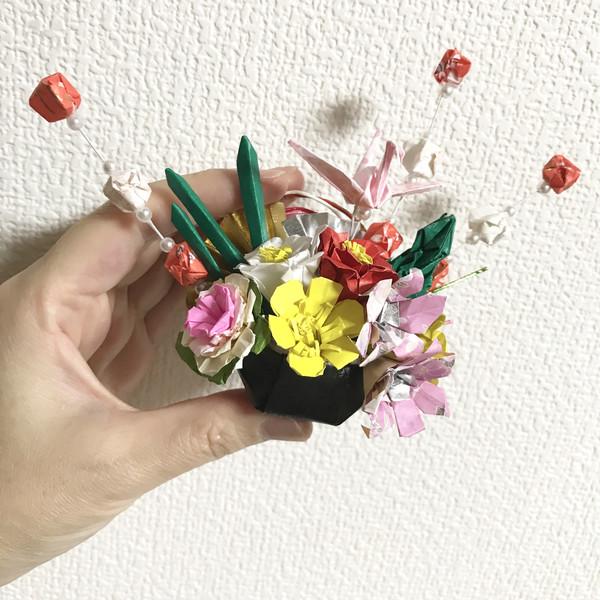 折り紙お正月飾り だちゃん さんのイラスト ニコニコ静画