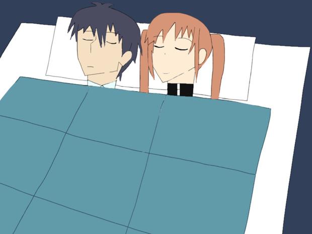 アホガール 添い寝