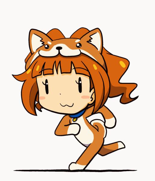 走るいぬやよいちゃんアニメ