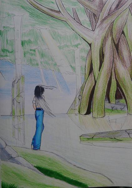 大樹とオリジナルキャラ