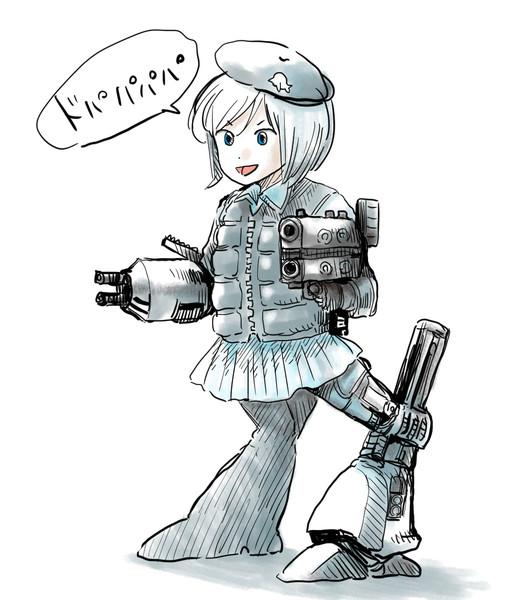 軍用シロイルカ寒冷地仕様
