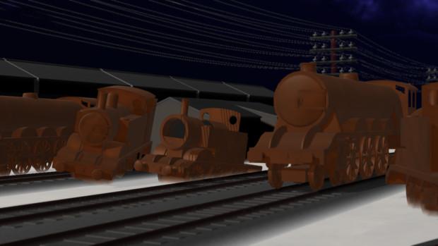【MMDきかんしゃトーマス】スクラップ機関車セット【配布あり】