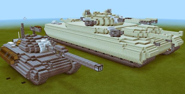 【Minecraft】新型戦車
