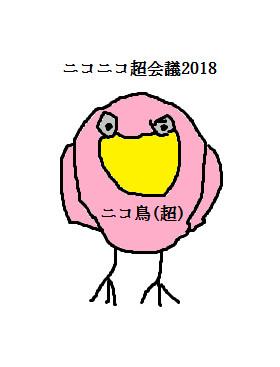 ニコニコ鳥(超)会議2018