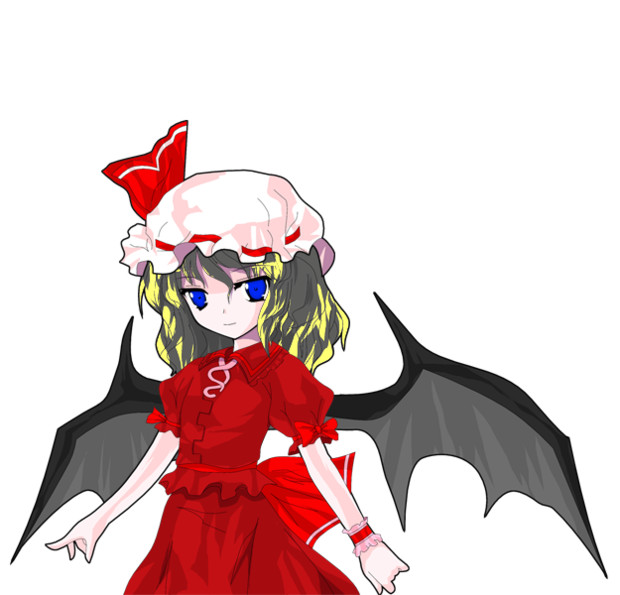レミリア2Pの仮装
