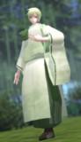【改変モデル更新】雁音白緑・人間擬態 Ver1.3【MMDオリキャラ】