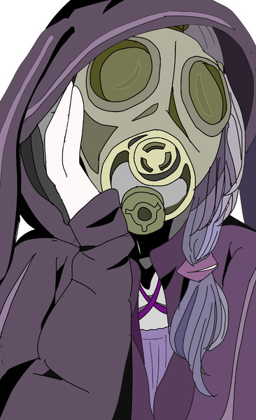 ガスマスク結月ゆかり