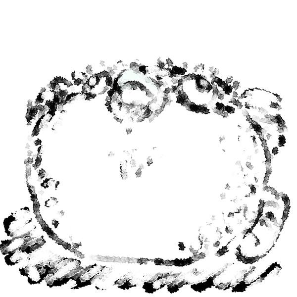 フグを描いた