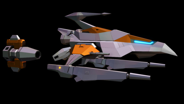 【MMDモデル配布】Origin/Genesis Silver Hawk version 2.2