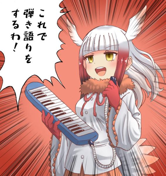 トキと楽器