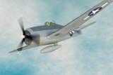 【MMDモデル配布】F6F Hellcat