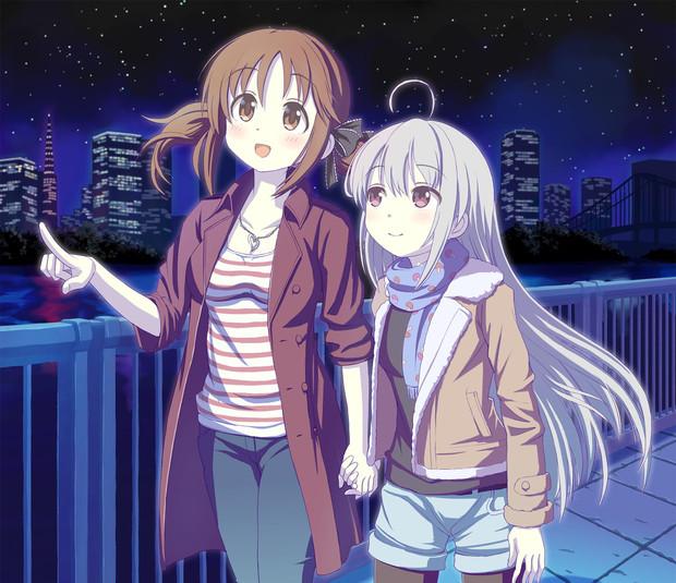 愛梨と輝子は夜に出歩く