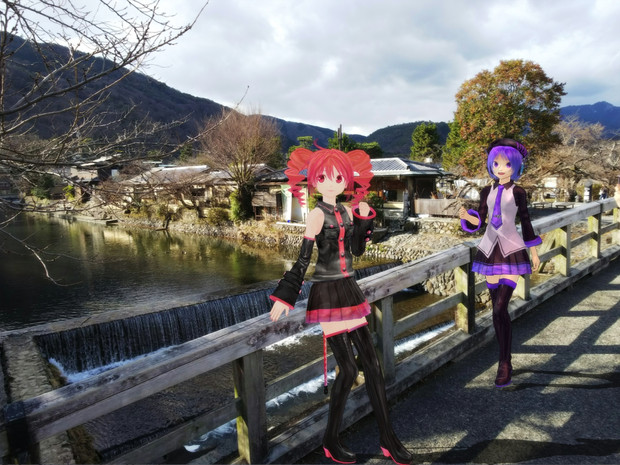 【MMD】嵐山へ・・・テトウタ【京都その4】