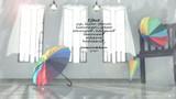 【配布】虹色傘(MMDアクセサリ)