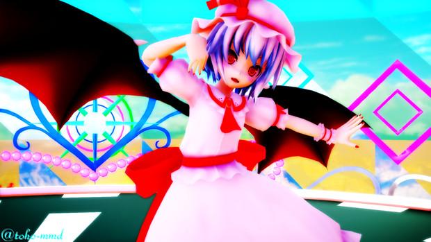 【ray-mmd】お嬢様