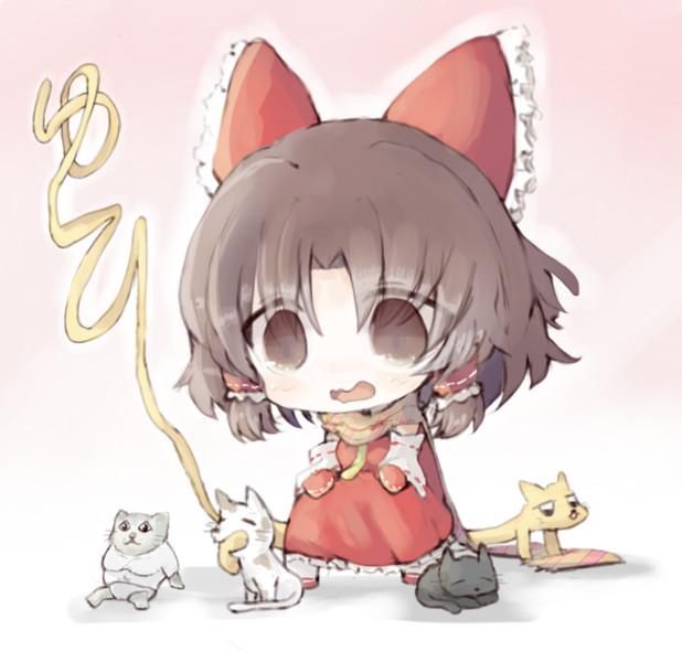 猫に囲まれ幸せBNKRG
