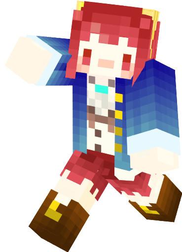 【Minecraftスキン】ソフィー