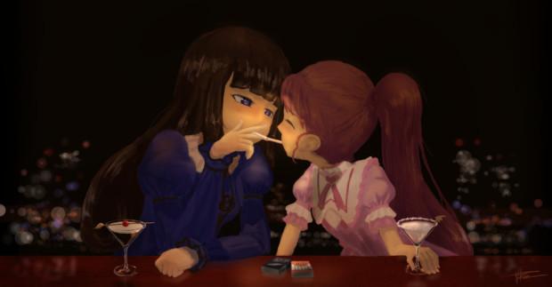 でび&えん☆Cigarette-Kiss