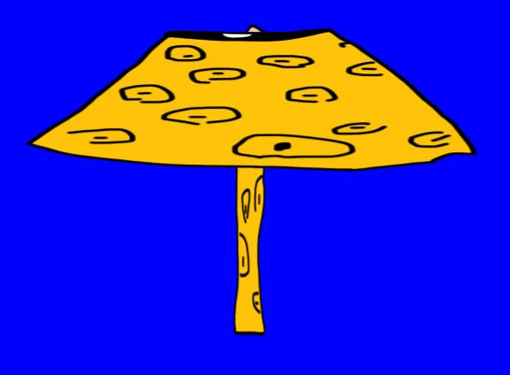 ジャガーさんの素材で作ったパラソ ル