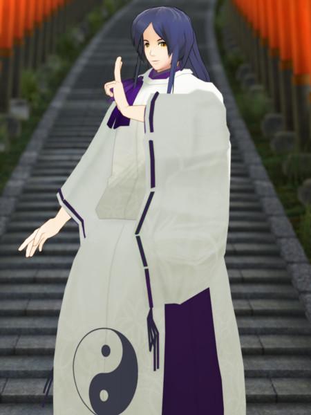 【改変モデル配布】秋桜院瑞穂【MMDオリキャラ】
