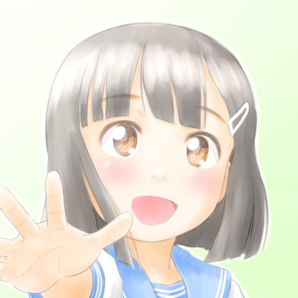 フリーアイコン(ふわっとリベンジらくがきちゃん)